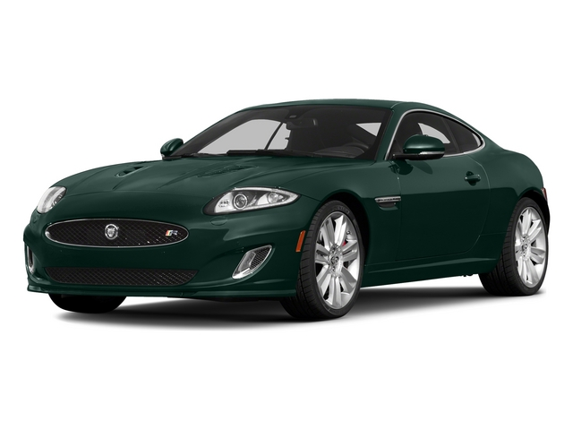 British Racing Green 2015 Jaguar XK Pictures XK Coupe 2D XKR V8 Supercharged photos front view