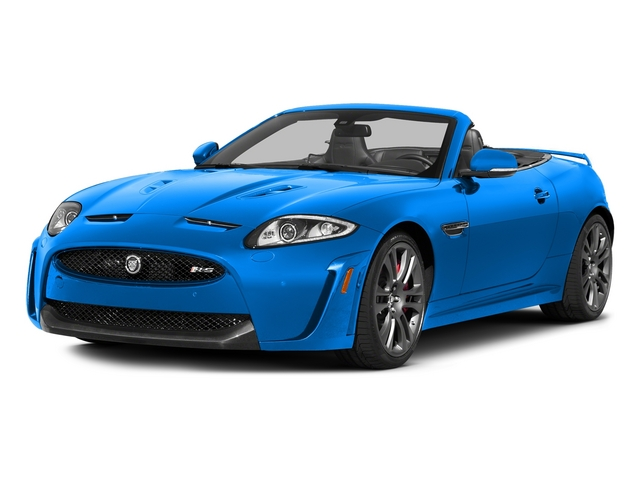 French Racing Blue 2015 Jaguar XK Pictures XK Convertible 2D XKR-S V8 Supercharged photos front view