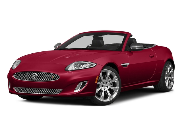Carnelian Red Metallic 2015 Jaguar XK Pictures XK Convertible 2D XKR V8 Supercharged photos front view