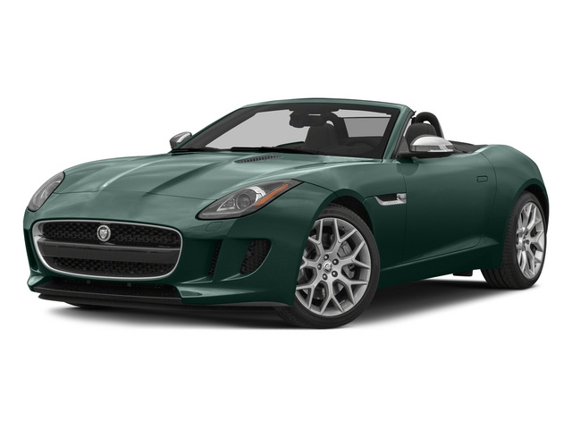 British Racing Green 2015 Jaguar F-TYPE Pictures F-TYPE Convertible 2D V6 photos front view