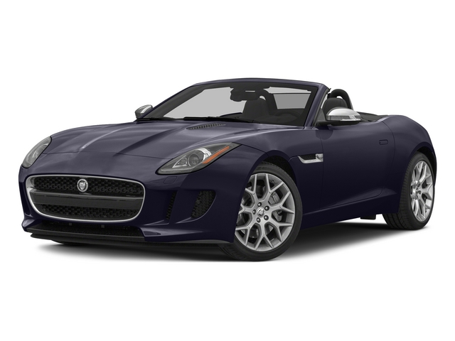 Black Amethyst Metallic 2015 Jaguar F-TYPE Pictures F-TYPE Convertible 2D V6 photos front view