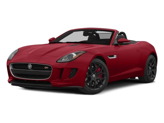 Italian Racing Red 2015 Jaguar F-TYPE Pictures F-TYPE Convertible 2D S V6 photos front view