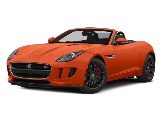 Firesand Metallic 2015 Jaguar F-TYPE Pictures F-TYPE Convertible 2D S V6 photos front view