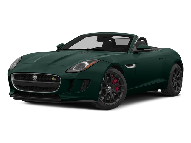 British Racing Green 2015 Jaguar F-TYPE Pictures F-TYPE Convertible 2D S V6 photos front view