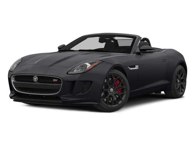 Stratus Gray Metallic 2015 Jaguar F-TYPE Pictures F-TYPE Convertible 2D S V6 photos front view