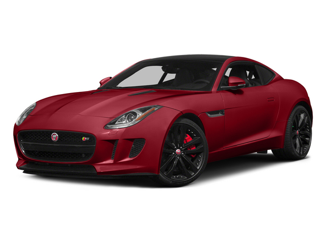 Italian Racing Red 2015 Jaguar F-TYPE Pictures F-TYPE Coupe 2D S V6 photos front view
