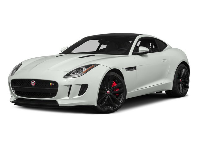 Polaris White 2015 Jaguar F-TYPE Pictures F-TYPE Coupe 2D S V6 photos front view