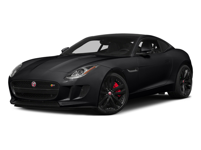 Ebony 2015 Jaguar F-TYPE Pictures F-TYPE Coupe 2D R V8 photos front view