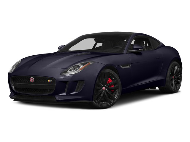 Black Amethyst Metallic 2015 Jaguar F-TYPE Pictures F-TYPE Coupe 2D S V6 photos front view