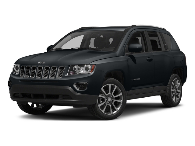 Maximum Steel Metallic Clearcoat 2015 Jeep Compass Pictures Compass Utility 4D High Altitude 2WD photos front view