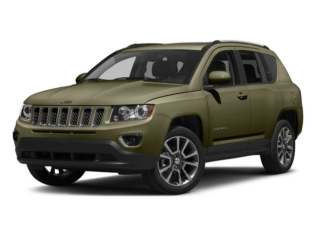 Eco Green Pearlcoat 2015 Jeep Compass Pictures Compass Utility 4D Latitude 2WD photos front view