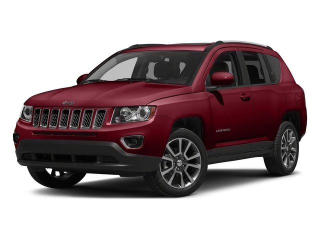 Deep Cherry Red Crystal Pearlcoat 2015 Jeep Compass Pictures Compass Utility 4D Latitude 2WD photos front view