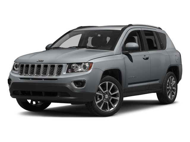 Billet Silver Metallic Clearcoat 2015 Jeep Compass Pictures Compass Utility 4D High Altitude 2WD photos front view