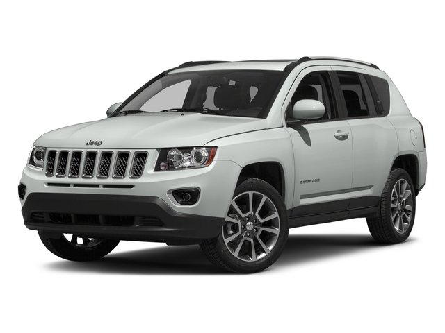Bright White Clearcoat 2015 Jeep Compass Pictures Compass Utility 4D Limited 4WD photos front view