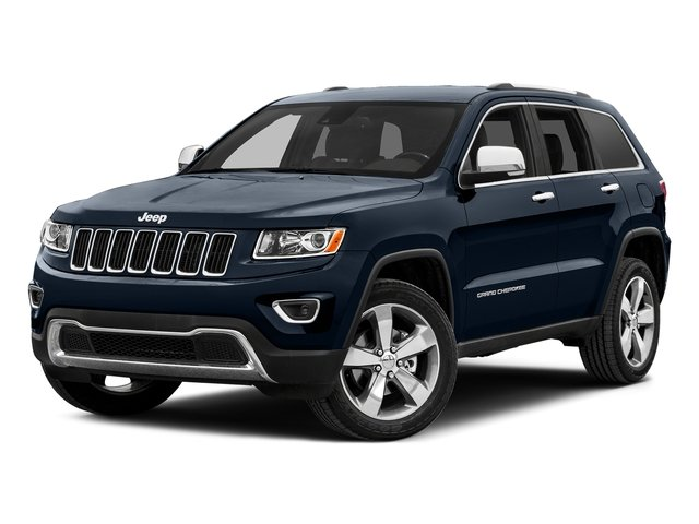 True Blue Pearlcoat 2015 Jeep Grand Cherokee Pictures Grand Cherokee Utility 4D Laredo 2WD photos front view