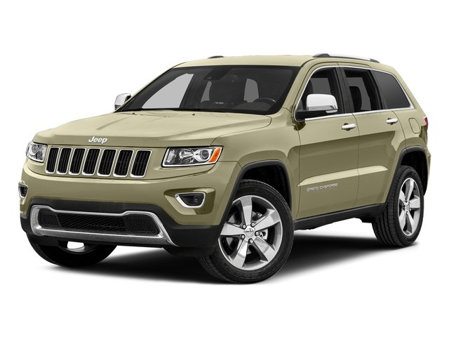 Cashmere Pearlcoat 2015 Jeep Grand Cherokee Pictures Grand Cherokee Utility 4D Laredo 2WD photos front view