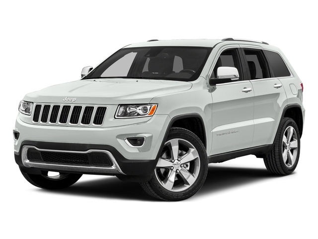 Bright White Clearcoat 2015 Jeep Grand Cherokee Pictures Grand Cherokee Utility 4D Limited 4WD photos front view