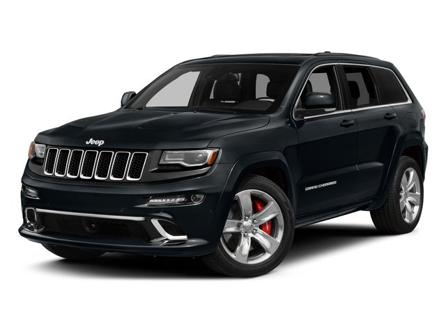 Maximum Steel Metallic Clearcoat 2015 Jeep Grand Cherokee Pictures Grand Cherokee Utility 4D SRT-8 4WD photos front view