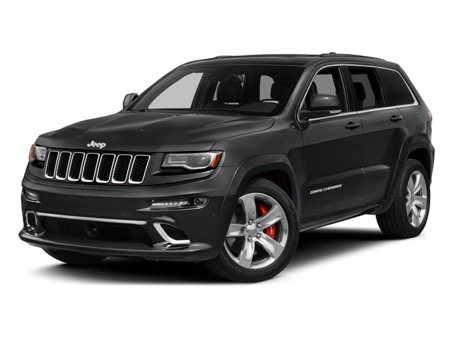 Granite Crystal Metallic Clearcoat 2015 Jeep Grand Cherokee Pictures Grand Cherokee Utility 4D SRT-8 4WD photos front view