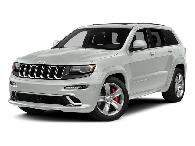 Bright White Clearcoat 2015 Jeep Grand Cherokee Pictures Grand Cherokee Utility 4D SRT-8 4WD photos front view