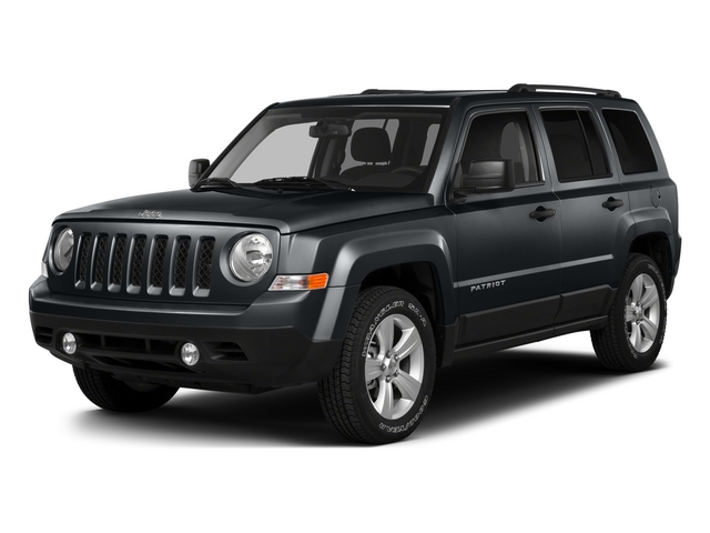 Maximum Steel Metallic Clearcoat 2015 Jeep Patriot Pictures Patriot Utility 4D Sport 4WD photos front view
