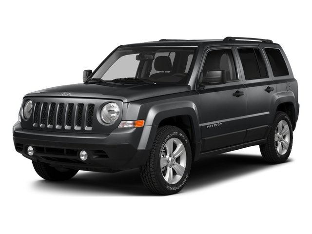 Granite Crystal Metallic Clearcoat 2015 Jeep Patriot Pictures Patriot Utility 4D Sport 4WD photos front view