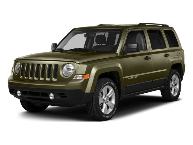 Eco Green Pearlcoat 2015 Jeep Patriot Pictures Patriot Utility 4D Sport 4WD photos front view