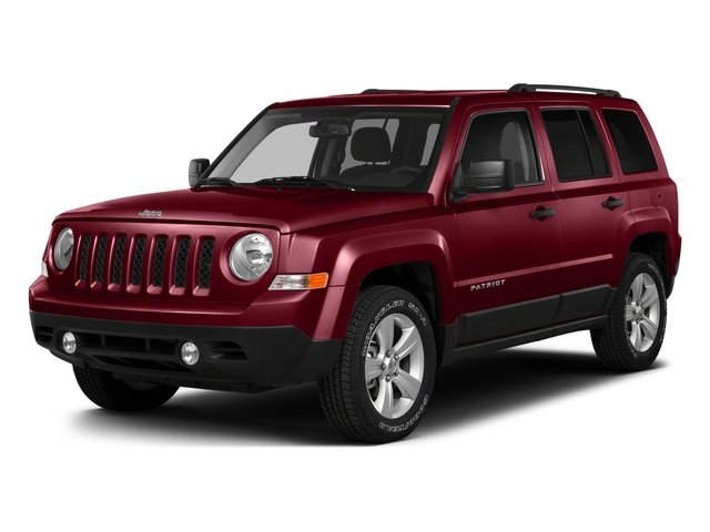 Deep Cherry Red Crystal Pearlcoat 2015 Jeep Patriot Pictures Patriot Utility 4D Sport 4WD photos front view