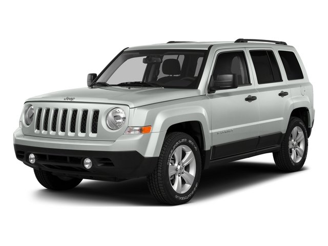 Bright White Clearcoat 2015 Jeep Patriot Pictures Patriot Utility 4D Sport 4WD photos front view