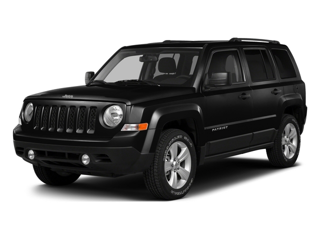 Black Clearcoat 2015 Jeep Patriot Pictures Patriot Utility 4D Sport 4WD photos front view