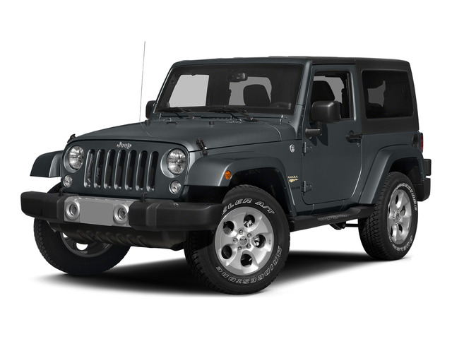 Anvil Clearcoat 2015 Jeep Wrangler Pictures Wrangler Utility 2D Sahara 4WD V6 photos front view