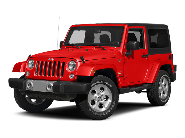 Firecracker Red Clear Coat 2015 Jeep Wrangler Pictures Wrangler Utility 2D Sahara 4WD V6 photos front view