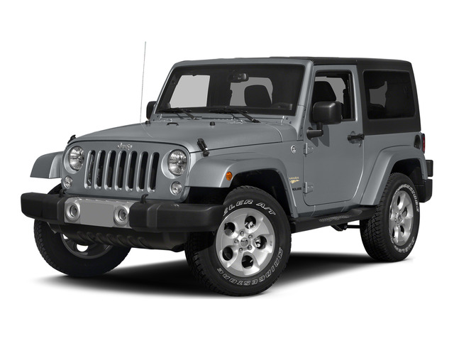 Billet Silver Metallic Clearcoat 2015 Jeep Wrangler Pictures Wrangler Utility 2D Rubicon 4WD V6 photos front view