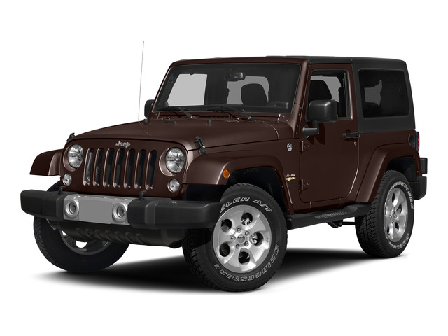 Copper Brown Pearlcoat 2015 Jeep Wrangler Pictures Wrangler Utility 2D Sahara 4WD V6 photos front view