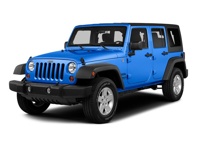 Hydro Blue Pearl Coat 2015 Jeep Wrangler Unlimited Pictures Wrangler Unlimited Utility 4D Unlimited Sport 4WD V6 photos front view