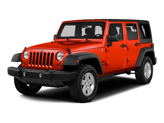 Firecracker Red Clear Coat 2015 Jeep Wrangler Unlimited Pictures Wrangler Unlimited Utility 4D Unlimited Rubicon 4WD V6 photos front view