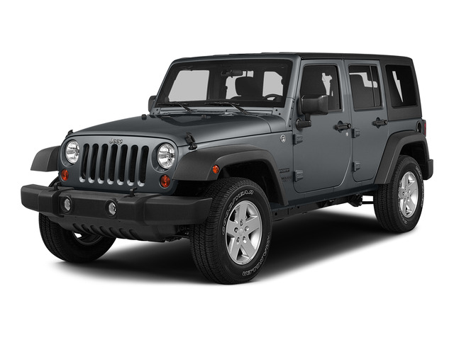 Billet Silver Metallic Clearcoat 2015 Jeep Wrangler Unlimited Pictures Wrangler Unlimited Utility 4D Unlimited Altitude 4WD V6 photos front view