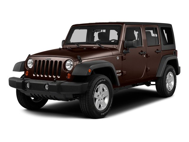 Copper Brown Pearlcoat 2015 Jeep Wrangler Unlimited Pictures Wrangler Unlimited Utility 4D Unlimited Sport 4WD V6 photos front view