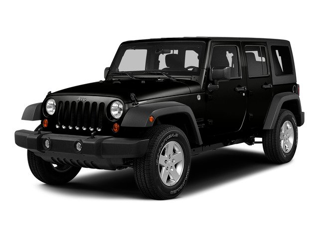 Black Clearcoat 2015 Jeep Wrangler Unlimited Pictures Wrangler Unlimited Utility 4D Unlimited Sport 4WD V6 photos front view