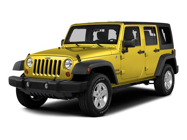Baja Yellow Clearcoat 2015 Jeep Wrangler Unlimited Pictures Wrangler Unlimited Utility 4D Unlimited Sport 4WD V6 photos front view