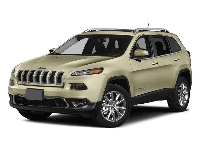 Cashmere Pearlcoat 2015 Jeep Cherokee Pictures Cherokee Utility 4D Limited 2WD photos front view