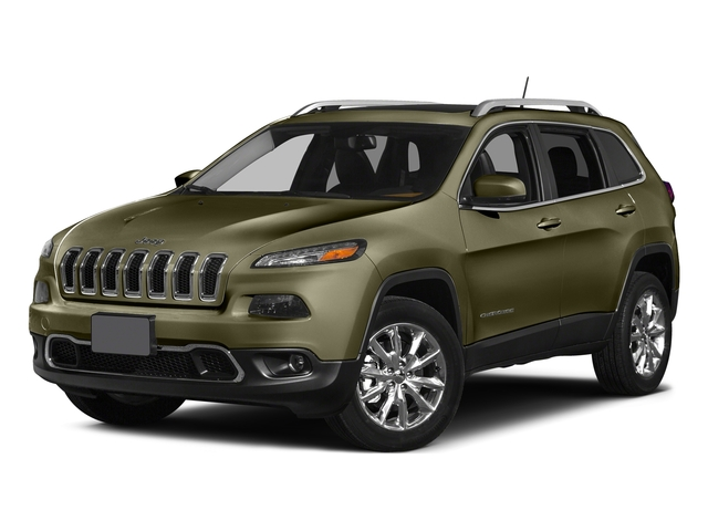 Eco Green Pearlcoat 2015 Jeep Cherokee Pictures Cherokee Utility 4D Latitude 2WD photos front view