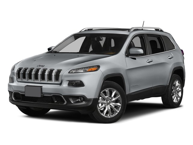 Billet Silver Metallic Clearcoat 2015 Jeep Cherokee Pictures Cherokee Utility 4D Latitude 2WD photos front view