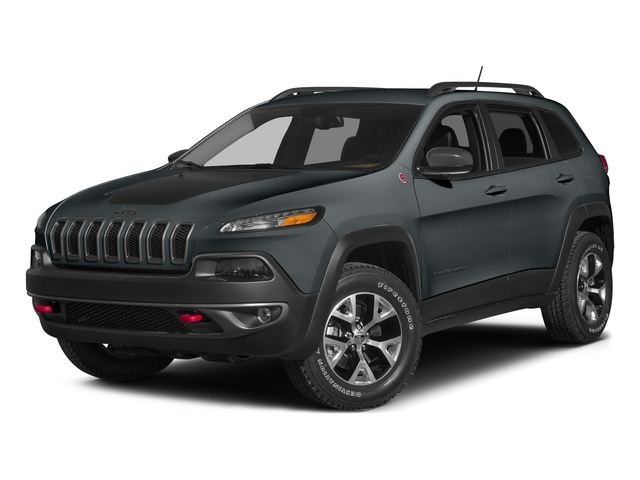 Anvil Clearcoat 2015 Jeep Cherokee Pictures Cherokee Utility 4D Trailhawk 4WD photos front view