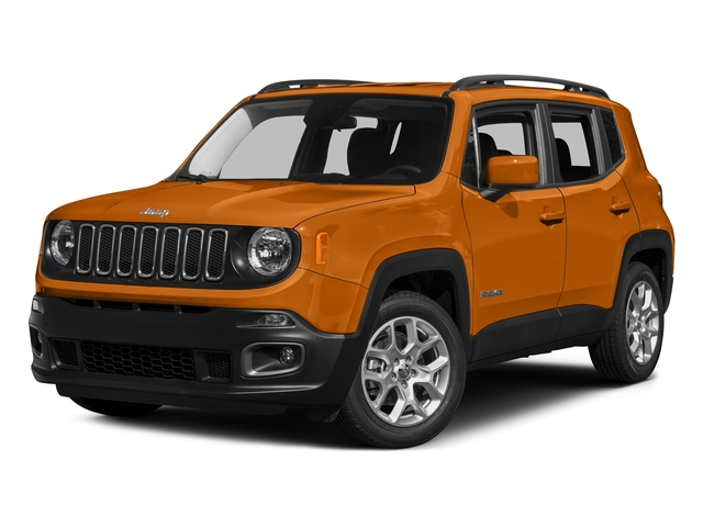 Omaha Orange 2015 Jeep Renegade Pictures Renegade Utility 4D Sport 2WD I4 photos front view