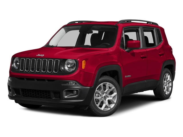 Colorado Red 2015 Jeep Renegade Pictures Renegade Utility 4D Latitude AWD I4 photos front view