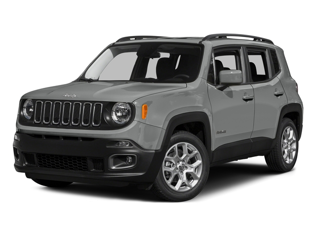 Glacier Metallic 2015 Jeep Renegade Pictures Renegade Utility 4D Latitude AWD I4 photos front view