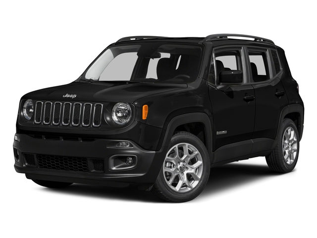 Black 2015 Jeep Renegade Pictures Renegade Utility 4D Limited AWD I4 photos front view
