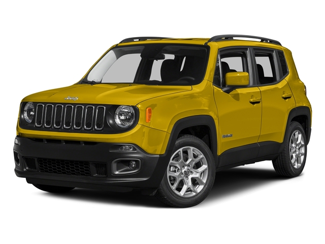 Solar Yellow 2015 Jeep Renegade Pictures Renegade Utility 4D Latitude AWD I4 photos front view