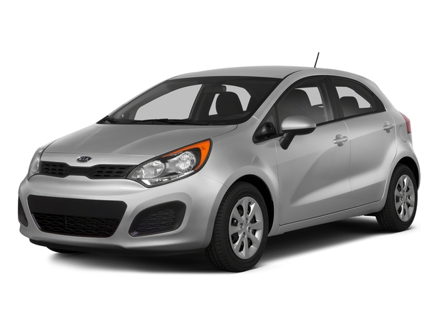 Bright Silver 2015 Kia Rio Pictures Rio Hatchback 5D LX I4 photos front view